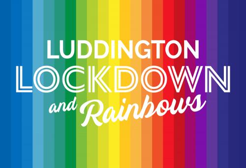Luddington Lockdown & Rainbows logo